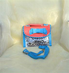 Handbag Messenger Bags Sling Shoulder Bag Flaps Sling Bag  Leopard G0094