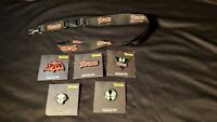 SPAWN 2019 SDCC EXCLUSIVE COMPLETE 5 PIN SET WITH LANYARD TODD MCFARLANE IMAGE