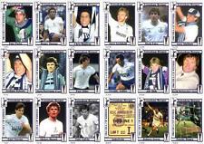 Tottenham Hotspur 1984 tarjetas comerciales FÚTBOL Copa UEFA ganadores