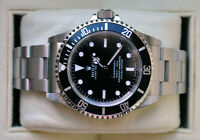 Rolex Submariner No Date (LC100-Card + near-NOS) B+P - 2009
