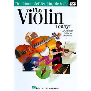 Play Violin Today DVD Hal Leonard Learn to Play Tuitional Tutorial Video DVD