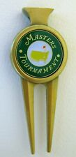 2019 Augusta National MASTERS GREEN BALL MARKER with MASTERS  DIVOT TOOL
