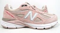 New Balance Men's 990v4 Sneaker Made in US Faded Rose/Pink Ribbon Size 10.5