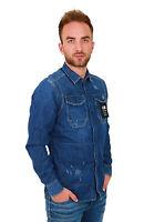 G-Star Wolker Shirt L/S D03013.D013.7221 dk aged - blau - Hemd - Herren +NEU+