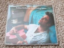 ROBBIE WILLIAMS, ADVERTISING SPACE, RARE CD SINGLE - 2 TRACKS.