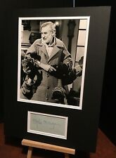 More details for spike milligan the muppet show / the goon show genuine signed 16x12 display uacc