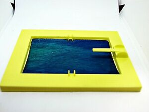 Plasticville Playground Yellow Pool with Innsert O-S Scale