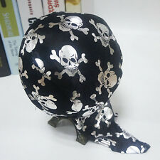 Halloween Costume Pirate Jack Captain Head Scarf Hat Dome Pirate Cap Hot