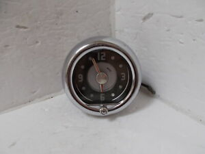 1949 Mercury 6 Volt Clock Restored Works Perfectly BEAUTIFUL!