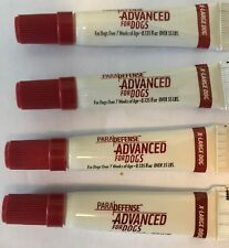 ParaDefense Advanced for Dogs Over 55 lbs Flea Protection 4 tubes/4 Month Supply