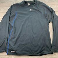 *Men's Under Armour Heat Gear Black Athletic Wear Long Sleeve size 3XL