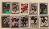 Large Lot (10) Hockey Rookie Cards, Brodeur, Kurri, Leetch, Dinesen, Others G