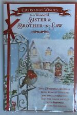 Christmas Wishes To A Wonderful Sister & Brother-in-law Christmas Greeting Card