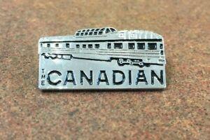 The Canadian Park Car Train Locomotive Hat/Lapel Pin