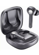 Boltune True Wireless Earbuds Bluetooth V5.0 Headphones 40 Hours Play Time -Gray