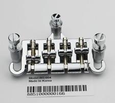 NEW-3 Point 4 String Bass Guitar Bridge Tailpiece (Korea) For Gibson Epiphone
