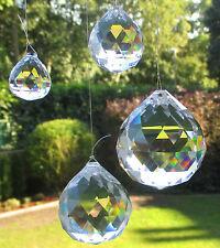 3 Kristallkugel, 50 mmØ, geschliffen, hochglanz poliert. 30% Asfour Crystal. #23