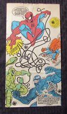 1994 SPIDER-MAN Happy Meal Bag FN+ 6.5 vs Venom Scorpion Hobgoblin