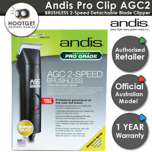 Andis Dog CLIPPERS AGCB Brushless 2Speed AU240v 10 Blade Pet Grooming Wahl Oster