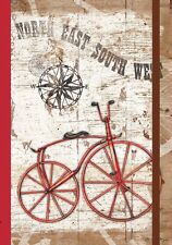 """VINTAGE BICYCLE Bike Journal, 192 Ruled Pages, 6"""" x 8.25"""", by LANG"""