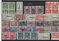 Mexico mixed early revenue Stamps Ref 15928
