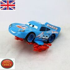 Disney Pixar Diecast Metal No.95 Blue Dinoco Lightning Storm McQueen Kid Toy