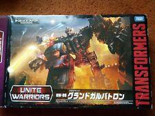 Transformers Unite warriors Galvatron Cyclonus Starscream Breakdown Thrust...