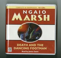 Death and the Dancing Footman: by Ngaio Marsh - Unabridged Audiobook - 10CDs
