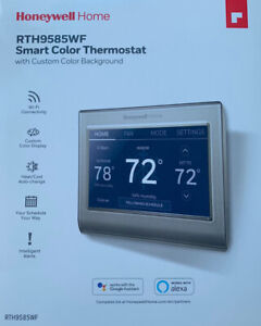 Honeywell RTH9585WF Smart Color Thermostat With Custom Color Background