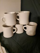 5 RESTAURANT WARE HEAVY VICTOR COFFEE MUGS CUPS