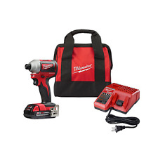 Milwaukee 2850-21P SB M18 Compact Brushless Cordless 0.25 Inch Impact Driver