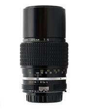 Nikon Tele obiettivo AI-S Nikkor 200mm F4 Perfetto Bellissimo No scatola AAAAA++