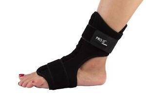 wellbeing night splint foot brace wrap plantar fasciitis
