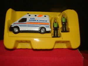 MATCHBOX AIR AMBULANCE IN PLASTIC INNER WITH CREW