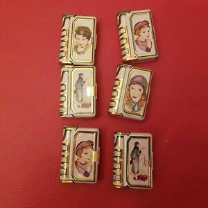 6 petites boîtes en métal pastilles mente La Pie qui chante La petite discrète