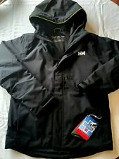 NWT Helly Hansen Men's Trysil Insulated Waterproof Jacket XXL Black- $300 Retail