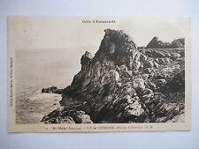 """CPA """"Saint Malo - Île de Cézembre - Rocher Saint Brendan"""""""