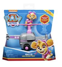 """Nickelodeon Paw Patrol- """"Skye"""" with Helicopter and Propeller -NIB. Ages 3+"""