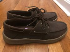 New Mens Sperry Topsider Brown Convoy 3-eye Boat Shoes Size 11M
