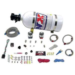 Nitrous Express 20922-10 ALL FORD EFI SINGLE NOZZLE SYSTEM 10LB BOTTLE