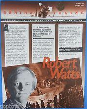 BANTHA TRACKS FAN CLUB NEWSLETTER #24 vtg '84 Star Wars Robert Watts Spielberg