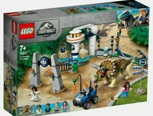 Jurassic World Lego Triceratops Randale 75937