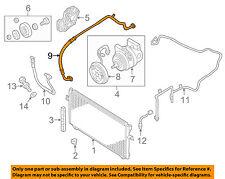 NISSAN OEM Altima A/C AC Condenser/Compressor/Line-Pressure Hose 924808J120