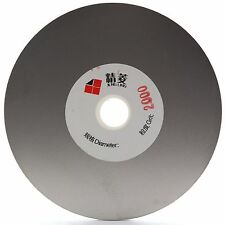 "4"" inch Grit 2000 Diamond Coated Flat Lap Disk Grinding Disc Wheel Lapidary Tool"