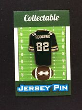 Green Bay Packers Richard Rodgers lapel pin-Cheesehead Collectable-TOUCHDOWN!