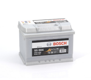 S5004 S5 004 Bosch Car Battery 12V 61Ah 600A Type 075 5 YEAR WARRANTY
