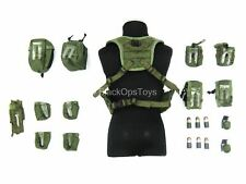 1/6 scale toy PMC - OD Green H-Harness w/Pouch Set