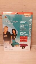 Decadry Transfer Sheets for Dark T-Shirts Pack of 5