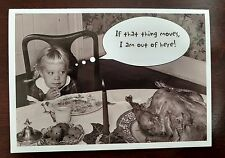 Humorous Thanksgiving Card with Envelope - Turkey - Comedy - Humor - New