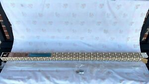 Graber Crystal Clear Telescoping Curtain Rod Adjustable, USA, New in Opened Box